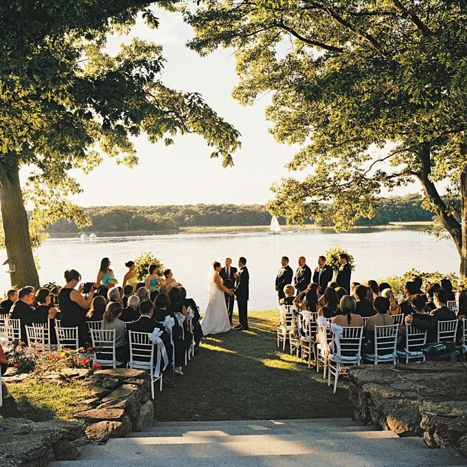 Outdoor Wedding Set Up Ideas: Outdoor Ceremony Style