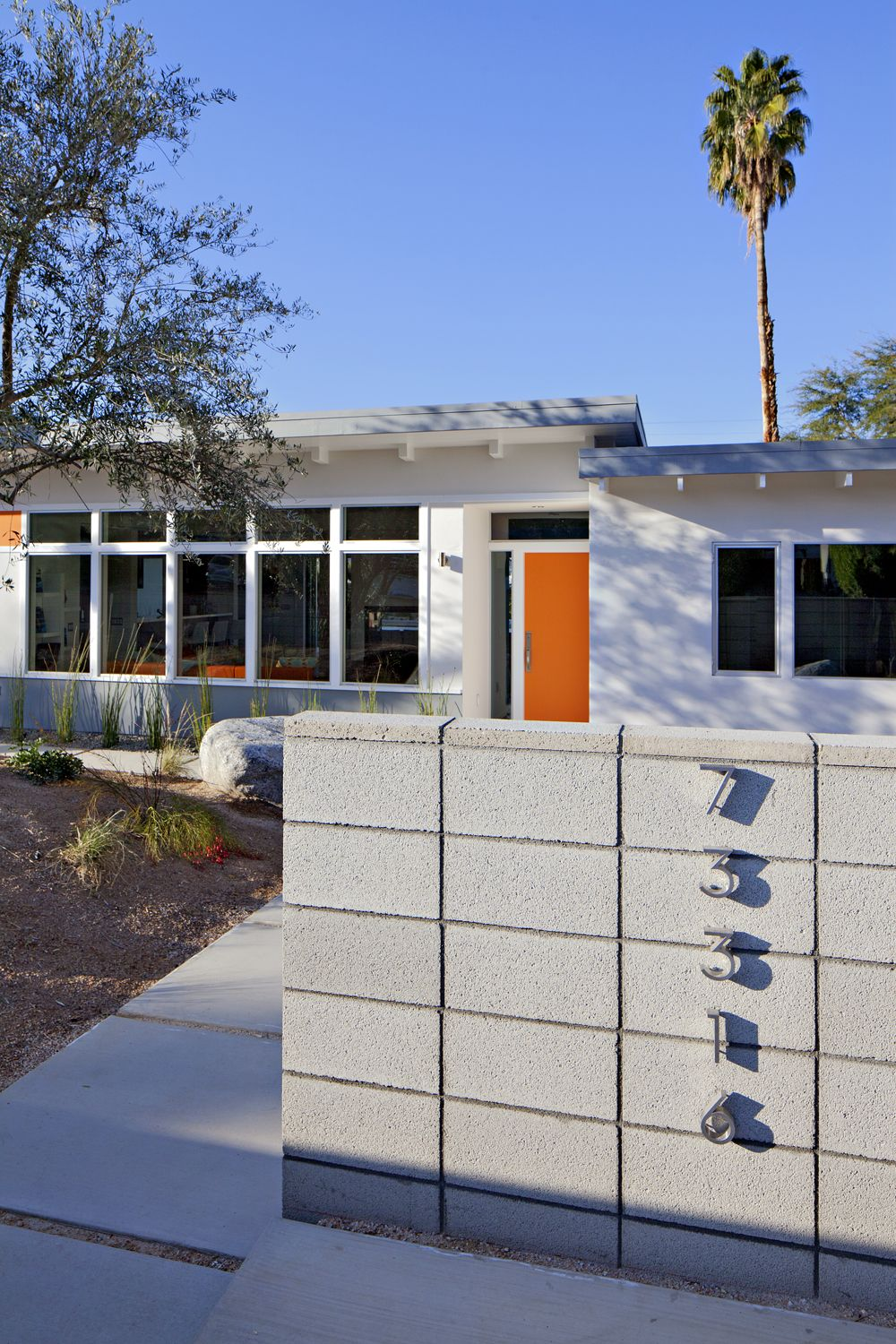 Mid century modern exterior house colors - Midcentury Modern Homes South Palm Desert Mid Century Modern Home Expanded Transformed Into