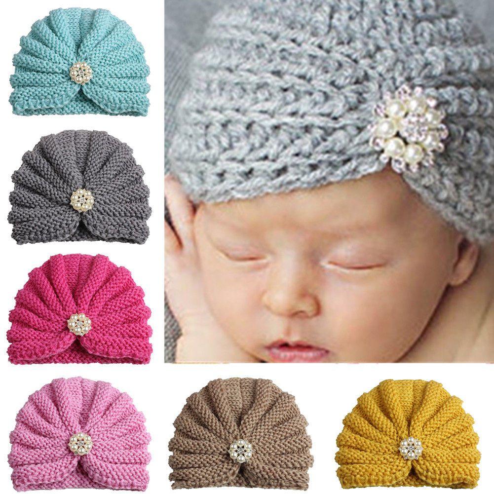 dcdeb8a0627  2.2 - Toddler Kids Girl Boy Baby Winter Warm Crochet Knit Hat Children Ski Beanie  Cap  ebay  Fashion