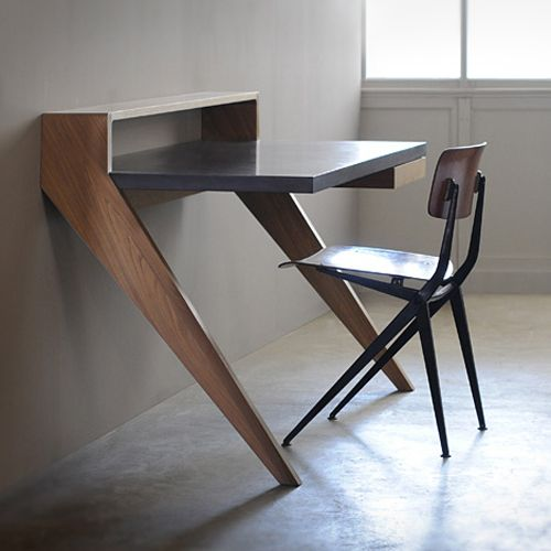 love this desk! Projects Pinterest Escritorios, Mesas y Madera - Escritorios Modernos