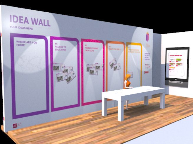 Event Management Interactivity With Idea Wall By Of