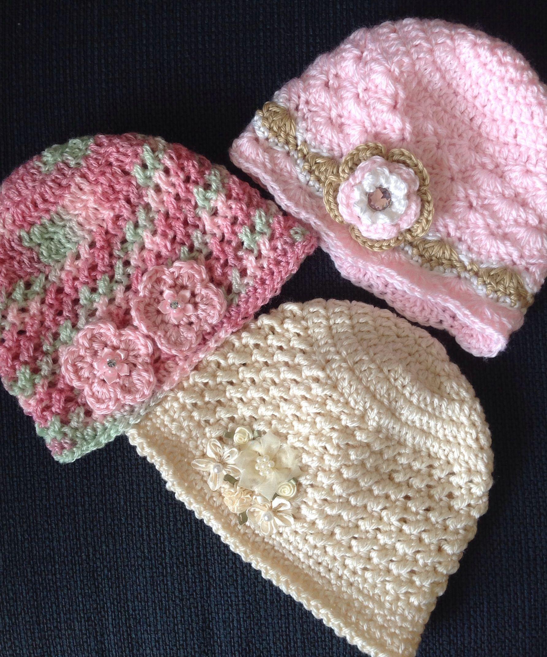 Crochet hat little girl