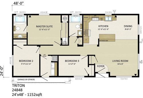 24 X 48 Homes Floor Plans Google Search Floor Plans House Floor Plans Small House Plans