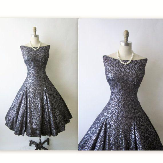 Vintage cocktail dress 1950s