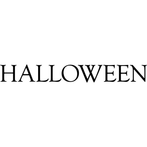 Halloween Text ❤ liked on Polyvore featuring halloween, text, words, quotes, fillers, phrase and saying
