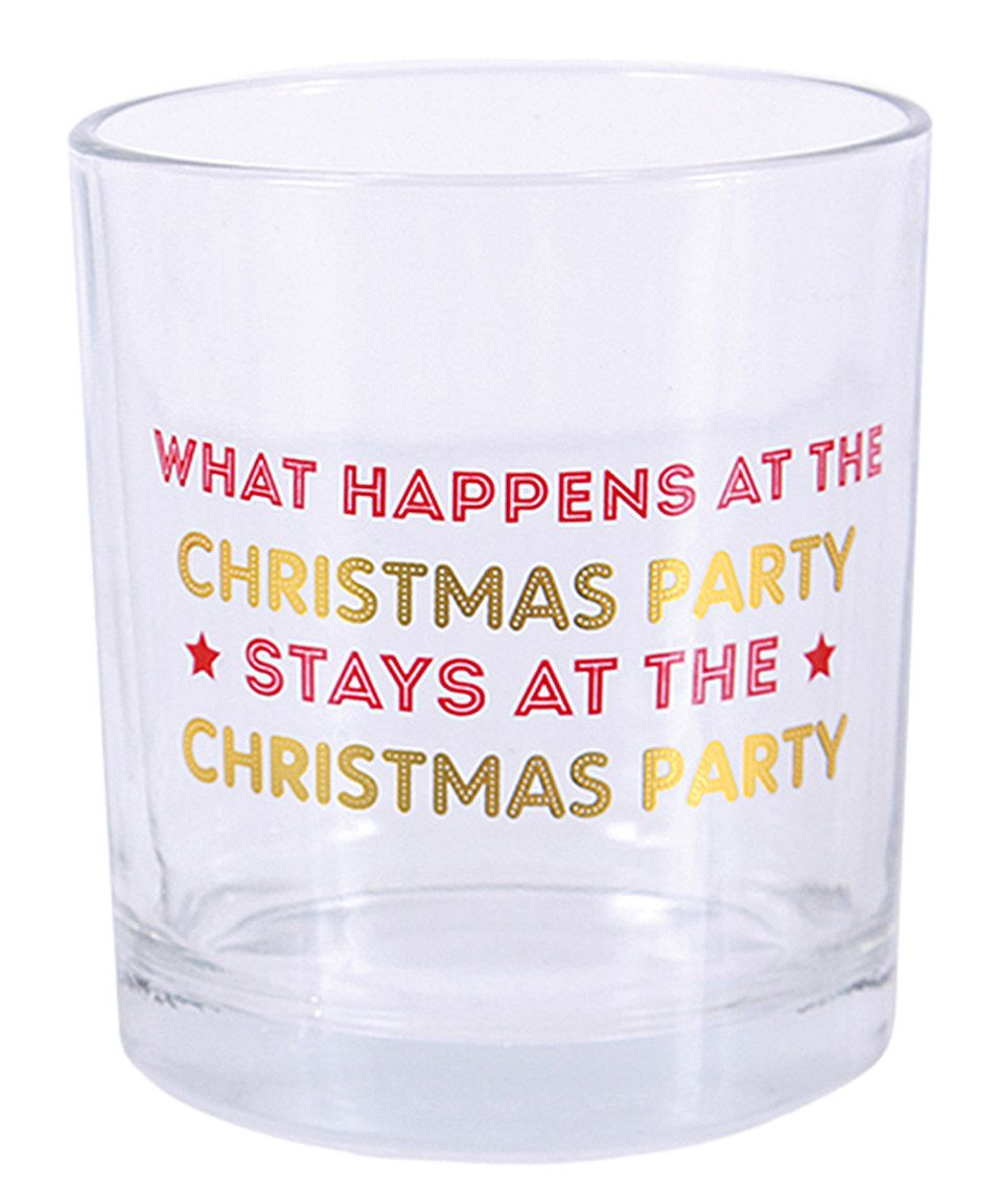 Look at this #zulilyfind! 'Stays at the Christmas Party' Tumbler by DEI #zulilyfinds