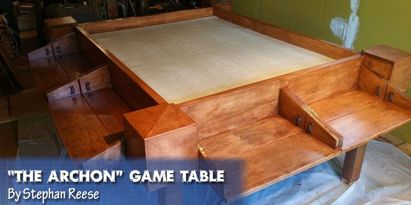 If Youu0027re Looking To Make Your Own Gaming Table For RPG Or Board Games