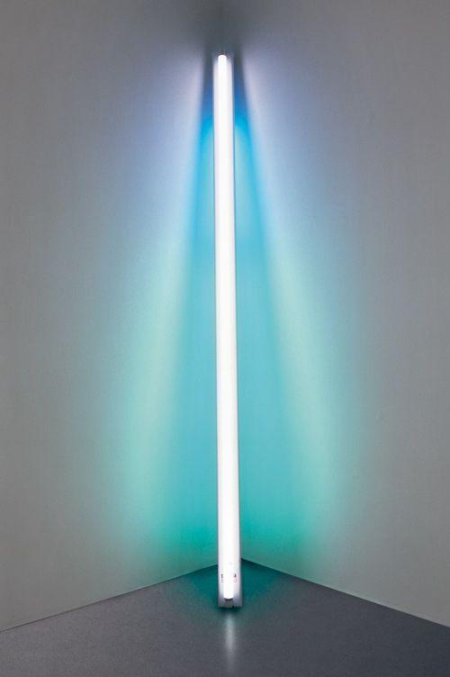 Dan Flavin | Minimalist artist, Light art, Dan flavin