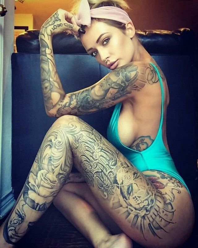 Sexy Tattoed Porn