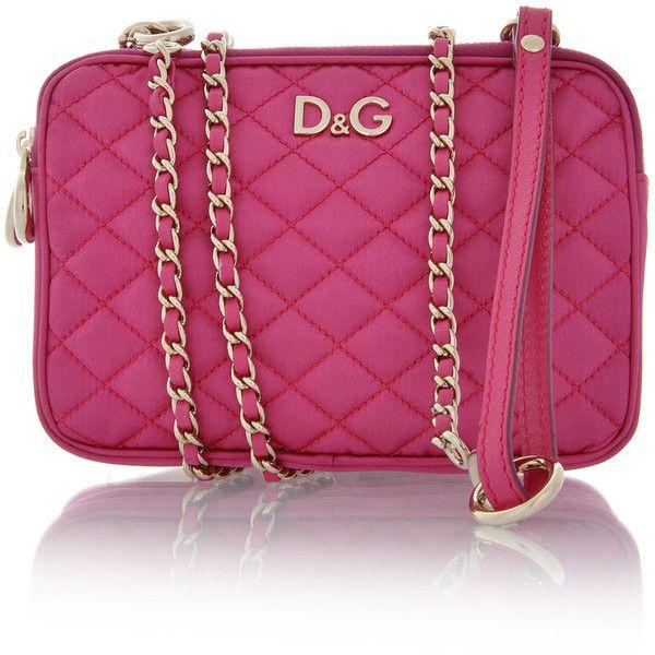 DOLCE   GABBANA Lily Glam Pink Bag  6de24acfc674a