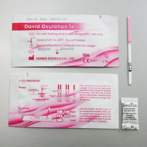 Pin on Ovulation test strips