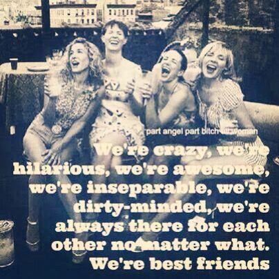 satc friendship quotes
