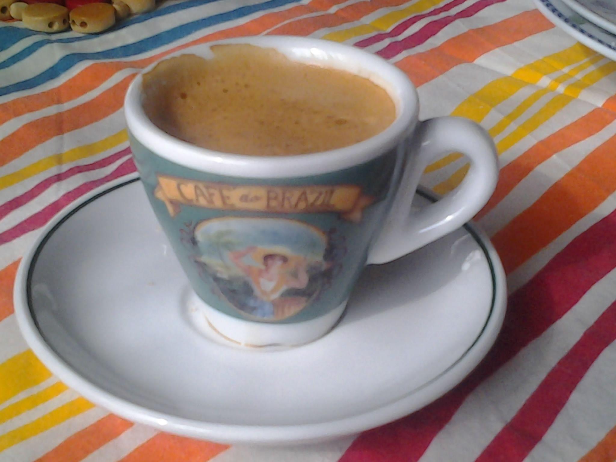a casa come al bar, cafè do brazil