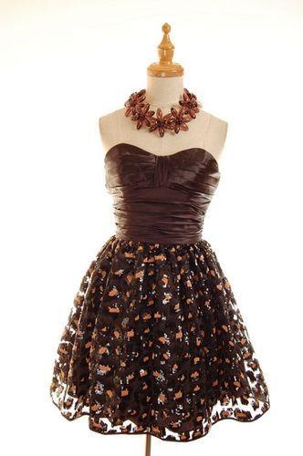 42b8fe7ec0 NWT Betsey Johnson Leopard Cheetah Sequin Prom Dress 4