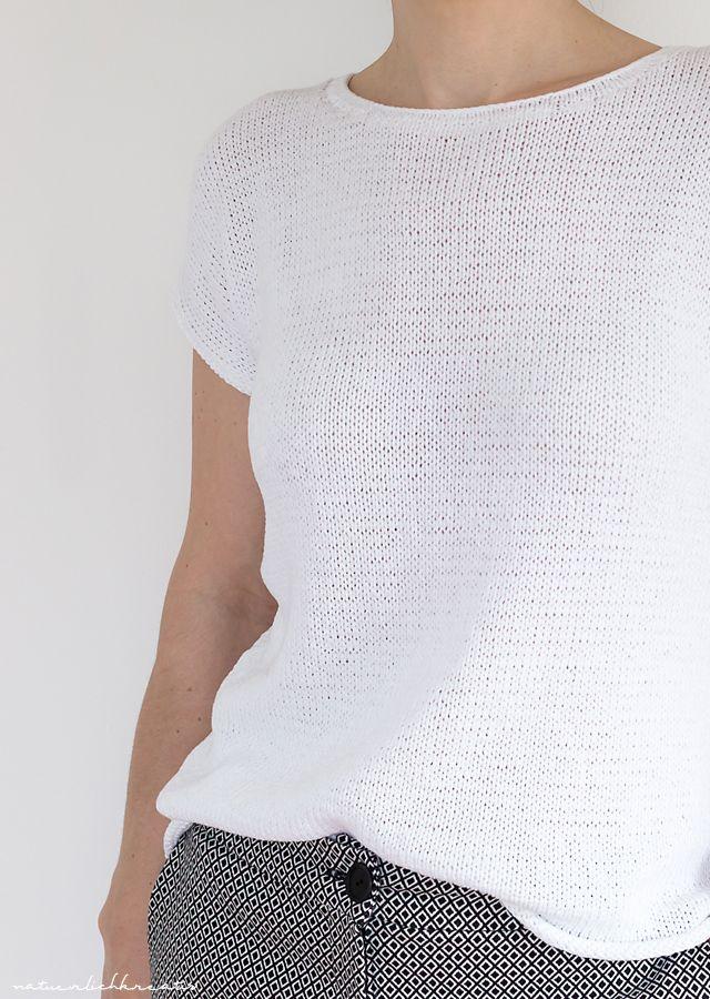 Photo of natuerlichkreativ: Kimono Strickshirt – Anleitung
