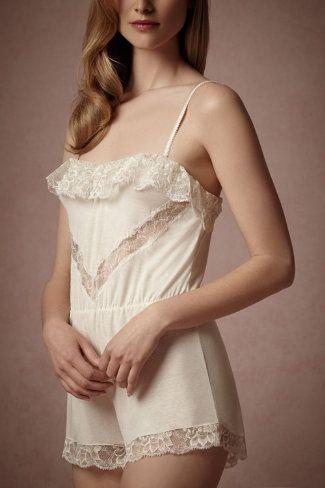 Ethereal Romper. Cute wedding lingerie