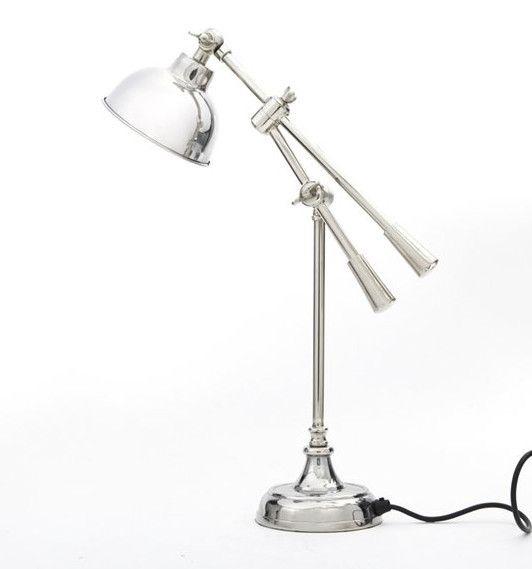 Copenhagen Nickel Table Lamp from Cotton & Wood