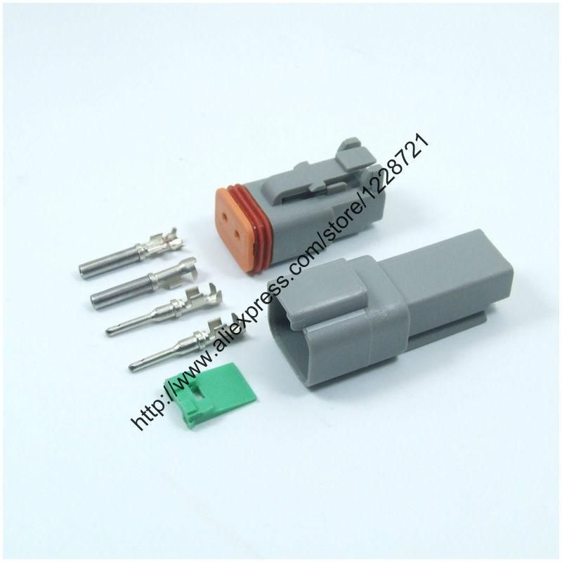 Visit to Buy] 1 Sets Kits DT06-2S DT04-2P 2Pins Male Female ...