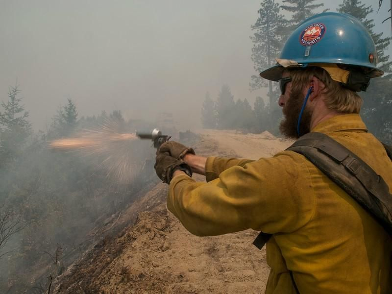 USFS FireCalifornia on Wildland fire, Wildland