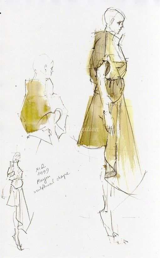 Creative Ideas For Fashion Design Sketchbook Work   Gold Sequins  Watercolour Illustration ....artist? | Fashion Illustrations | Pinterest | Fashion  Design ...