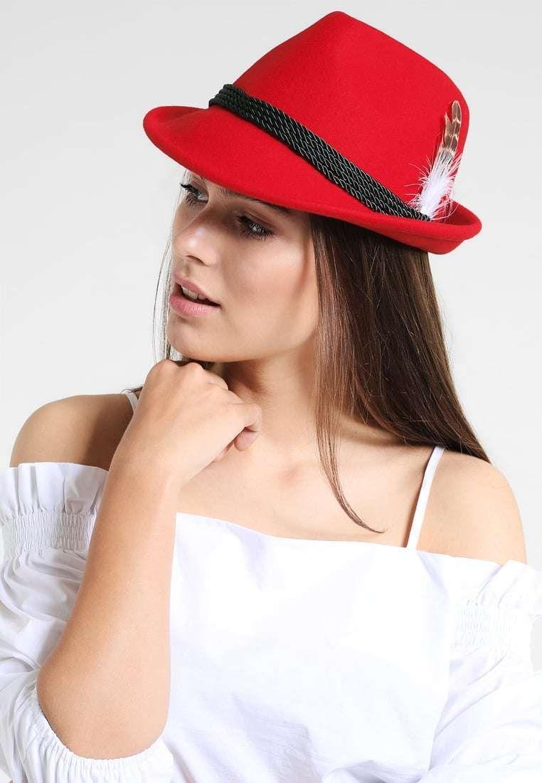 Cappello in feltro con cupola piatta e falda larga Alperflustern ... d7f462c64f95