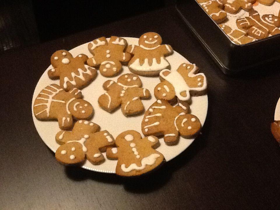 My gingerbread mini-me!