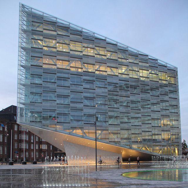 The crystal ii modern architecture commercial pinterest copenhagen denmark schmidt and - Architecture moderne residentielle schmidt lepper ...