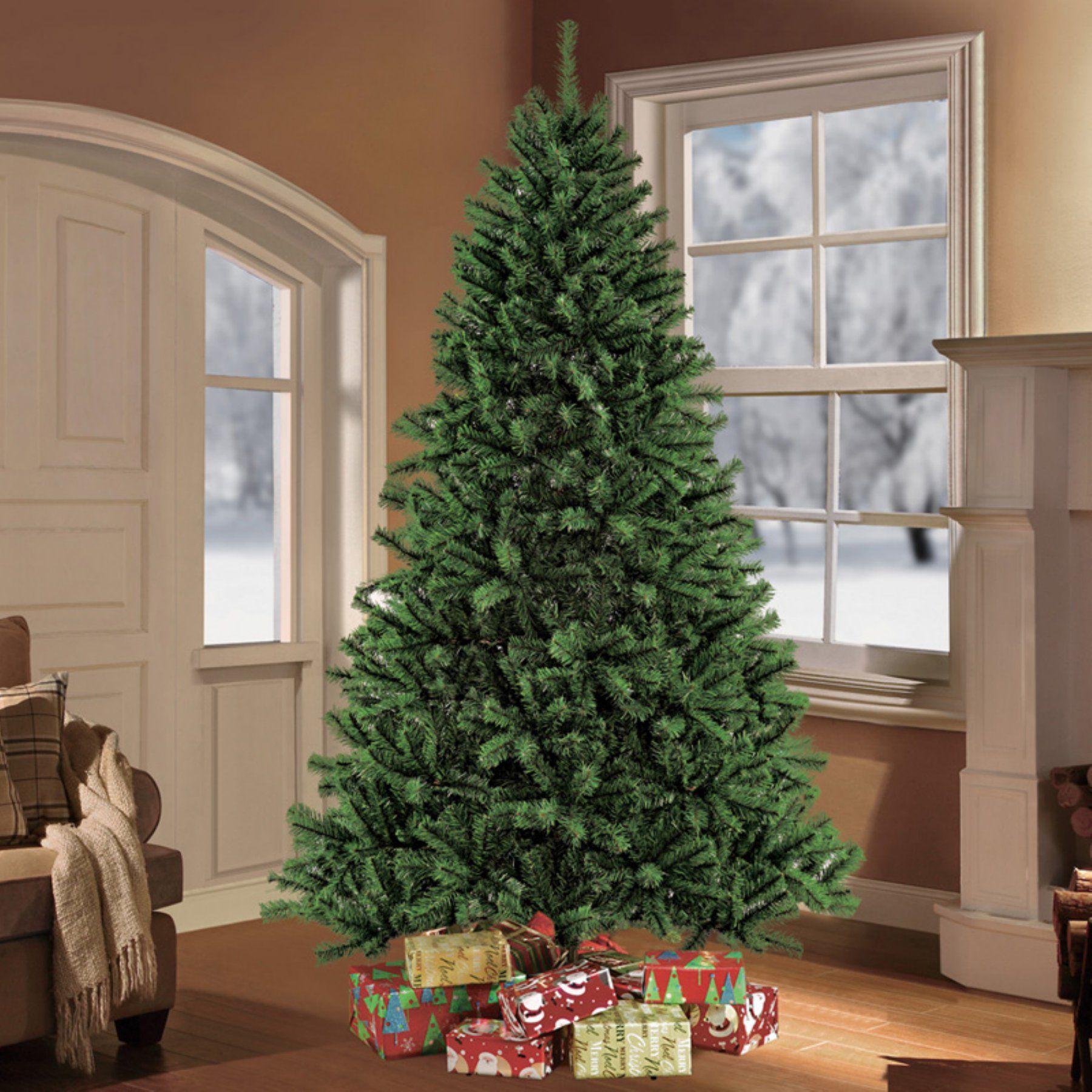 Puleo International 7 5 Unlit Northern Fir Artificial Unlit Christmas Tree 909 Nfg 75 Unlit Christmas Trees Slim Artificial Christmas Trees Fraser Fir
