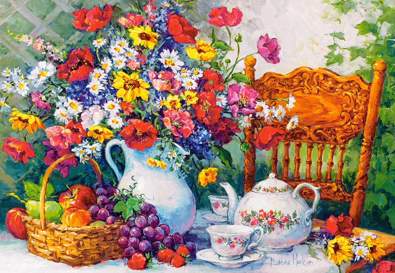 SUNSOUT INC Summer Still Life 1000 pc Jigsaw Puzzle