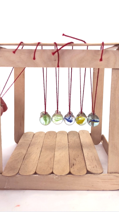 Photo of DIY Newton's Cradle