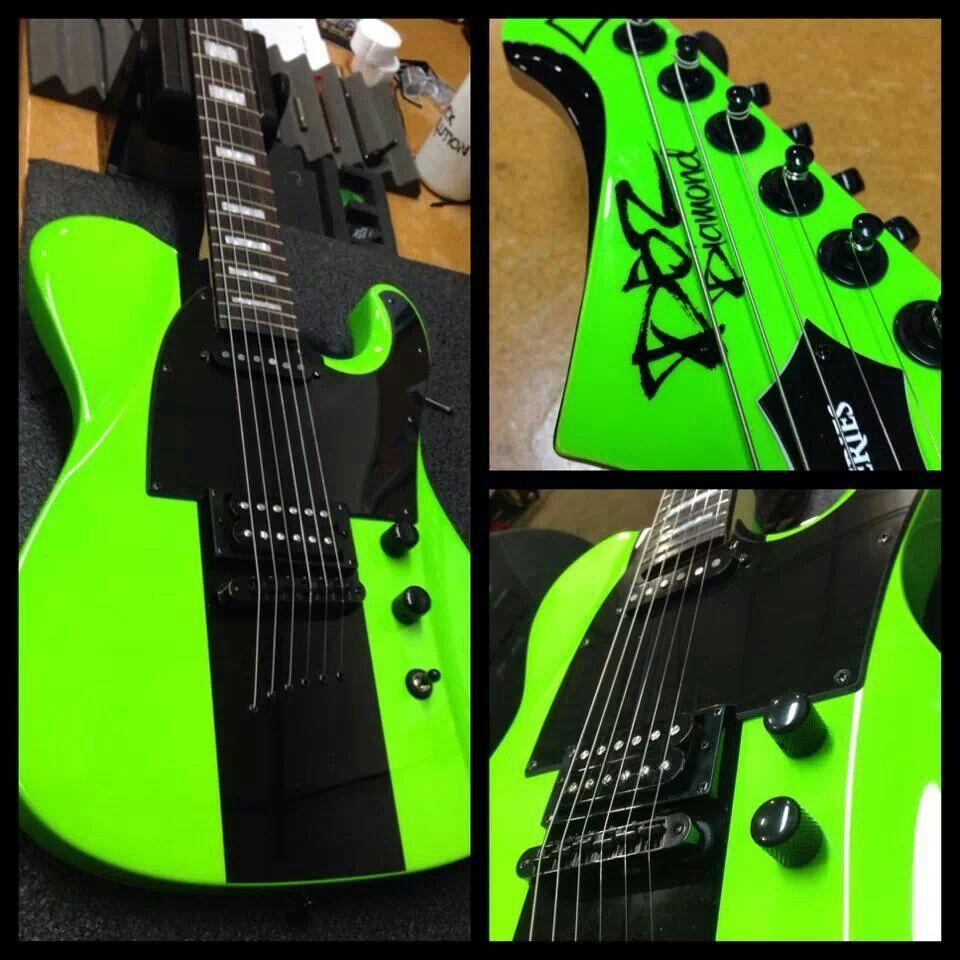 dbz guitars maverick st lime green finishes pinterest guitars and instruments. Black Bedroom Furniture Sets. Home Design Ideas