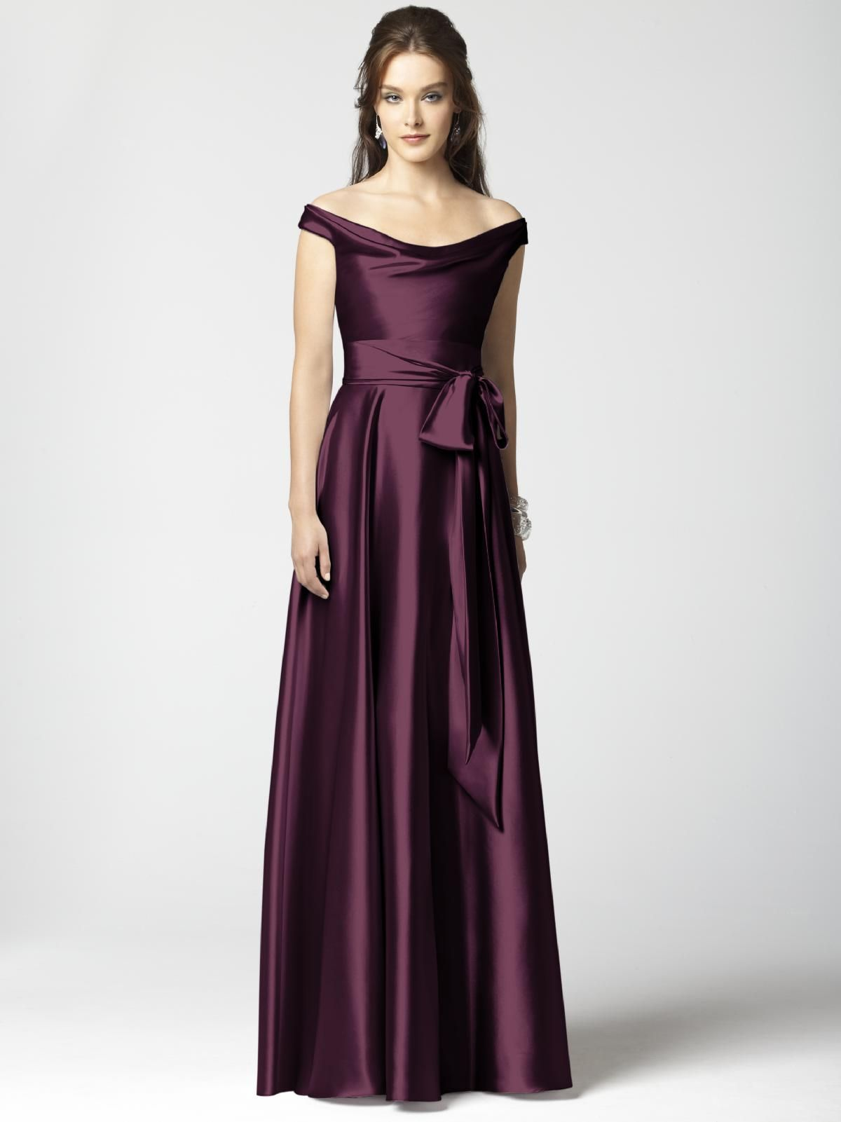 Dessy Collection Style 2864 #purple #bridesmaid #dress | PURPLE ...