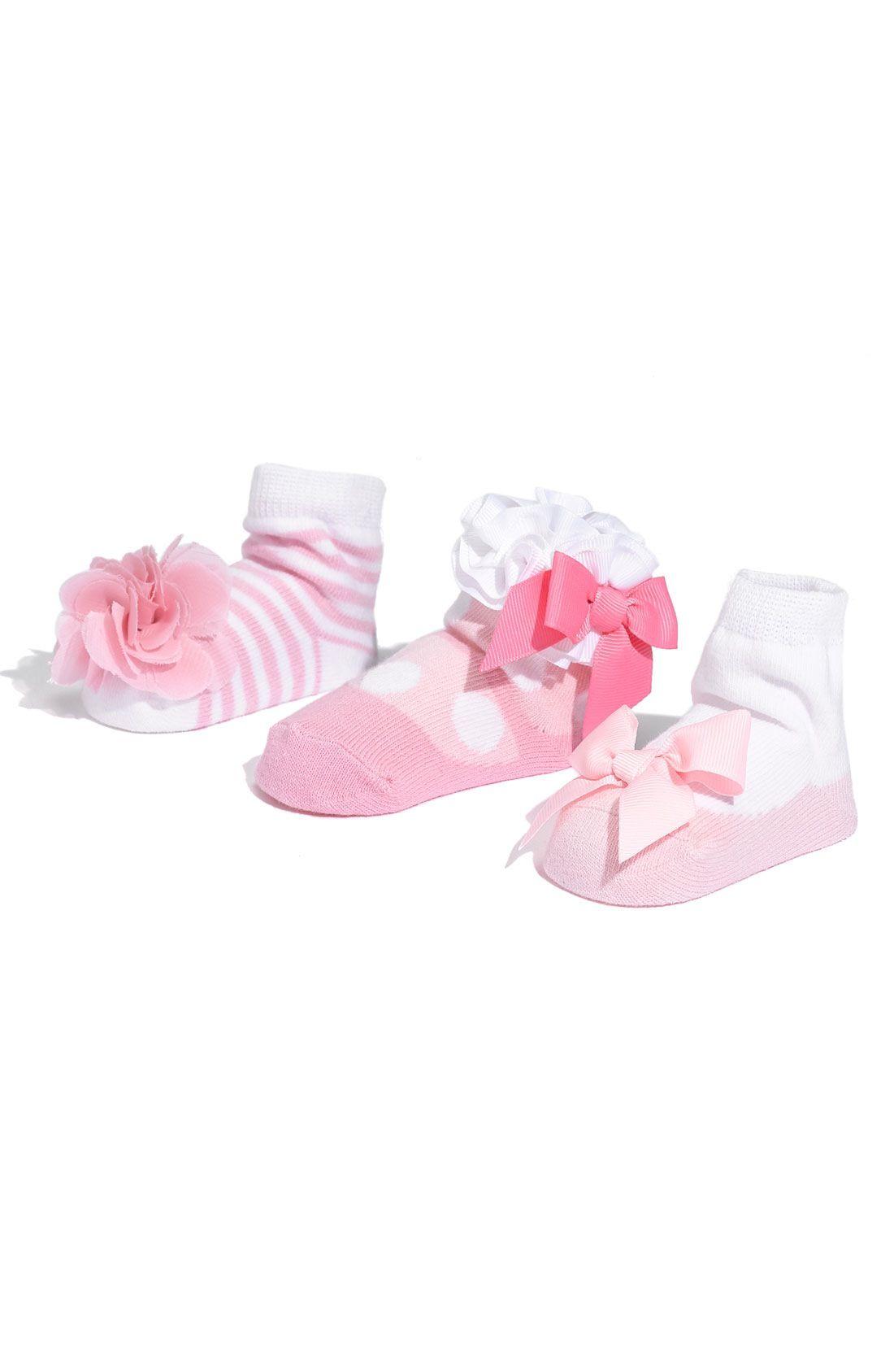 Mud Pie Baby Girls Socks Set