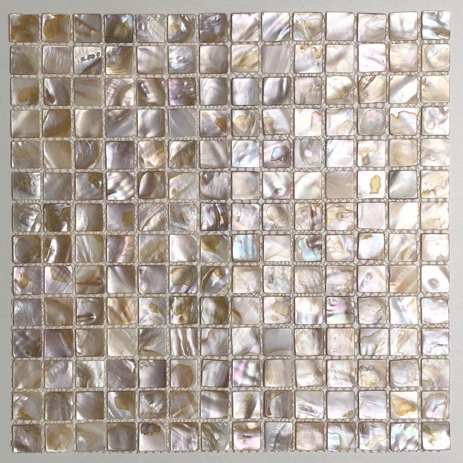carreaux mosaique nacre pour sol ou mur