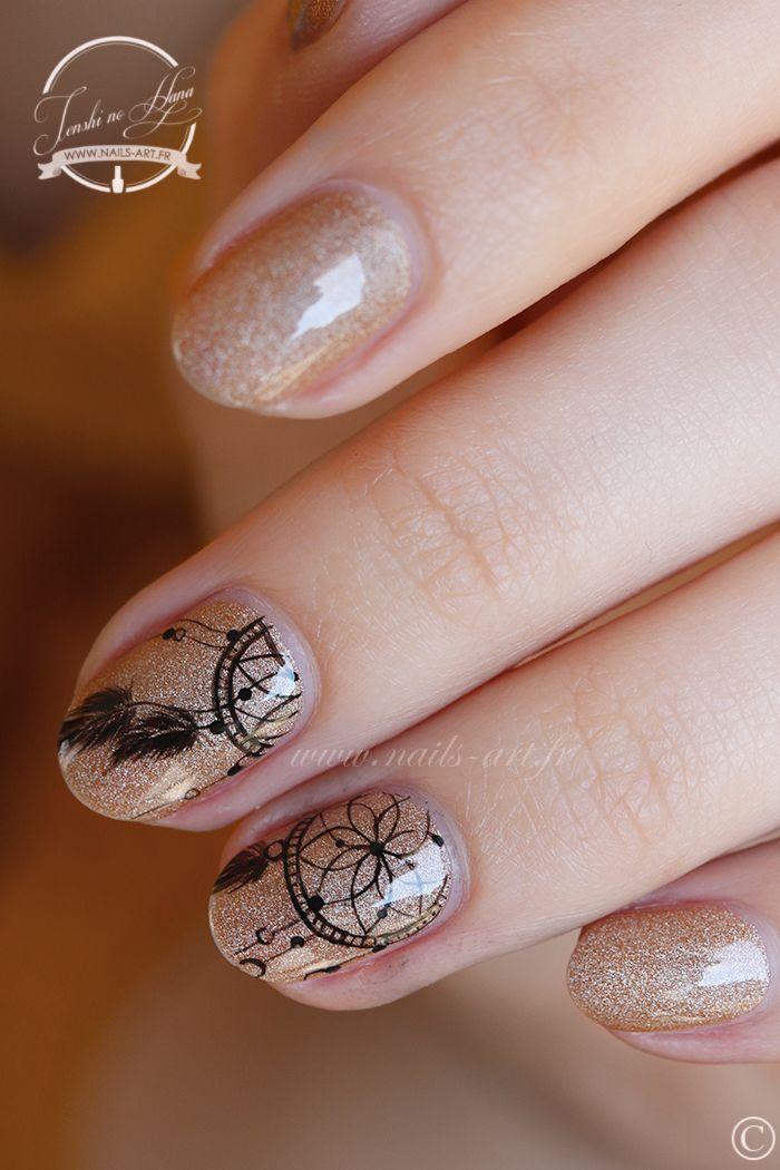 http://www.nails-art.fr/nail-art-dreamcatcher/ | Pinying | Pinterest ...