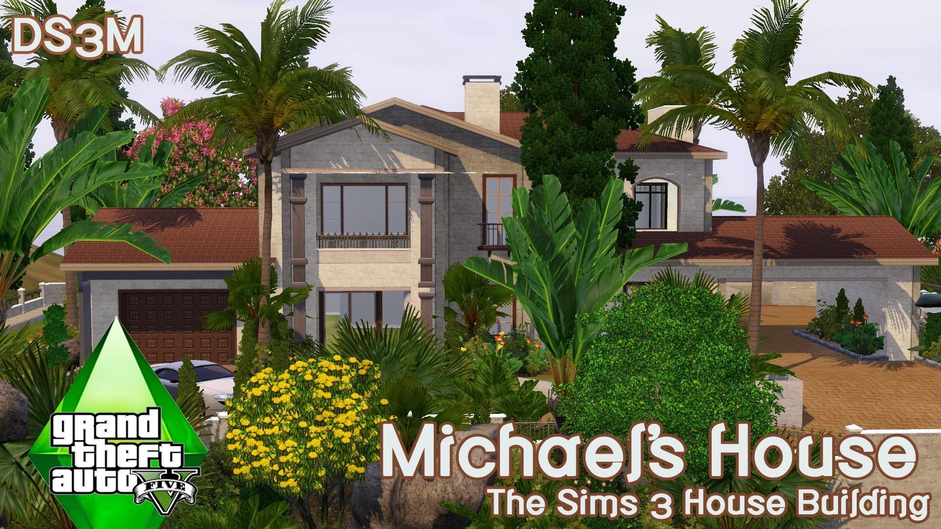 The Sims 3 House Building Michael S House Gta V Franklin Homes