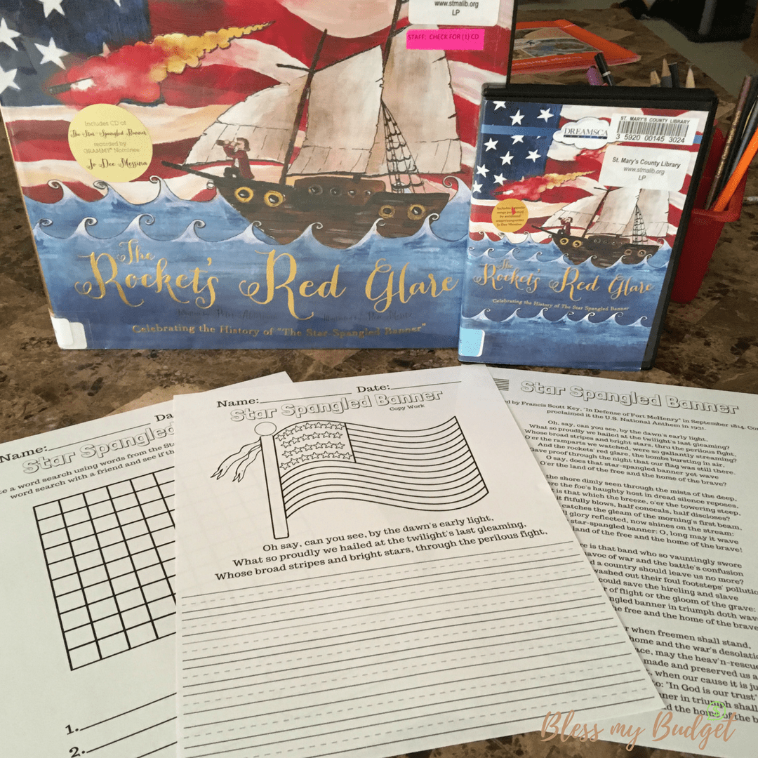 Teach Your Kids About The Star Spangled Banner For Free