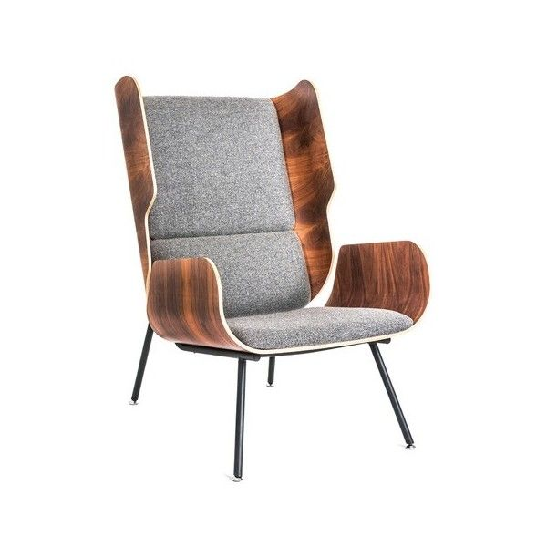 Gus Modern Elk Chair ($1,250) Via Polyvore Featuring Home, Furniture, Chairs ,