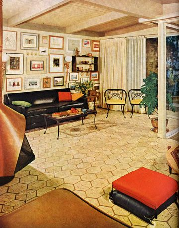 Delicieux 1960s Furniture Styles Pictures   Interior Design From The 1960s   House  Beautiful