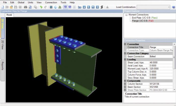 Risaconnection By Risa Technologies Risaconnection Is A Useful Program Designed To Assist Engineers In Fini Civil Engineering Software Steel Structure Design