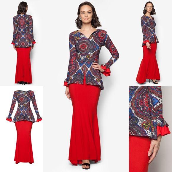 Design Baju Raya Artis : Trend baju kurung moden hari raya fesyen