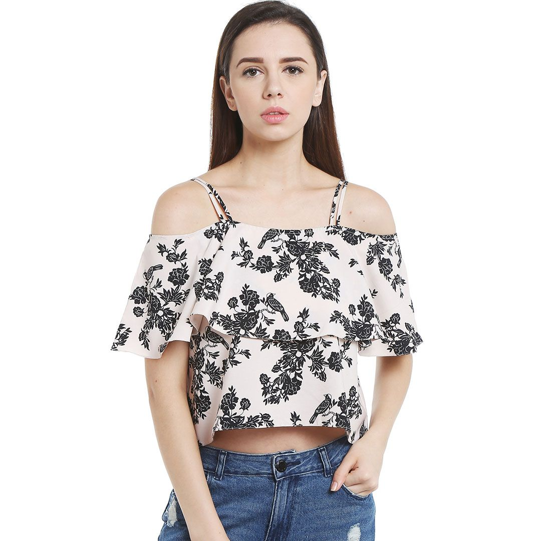 bca432f02a31b Pull together the perfect Boho-chic look with this charming top designed by  Blu Finch