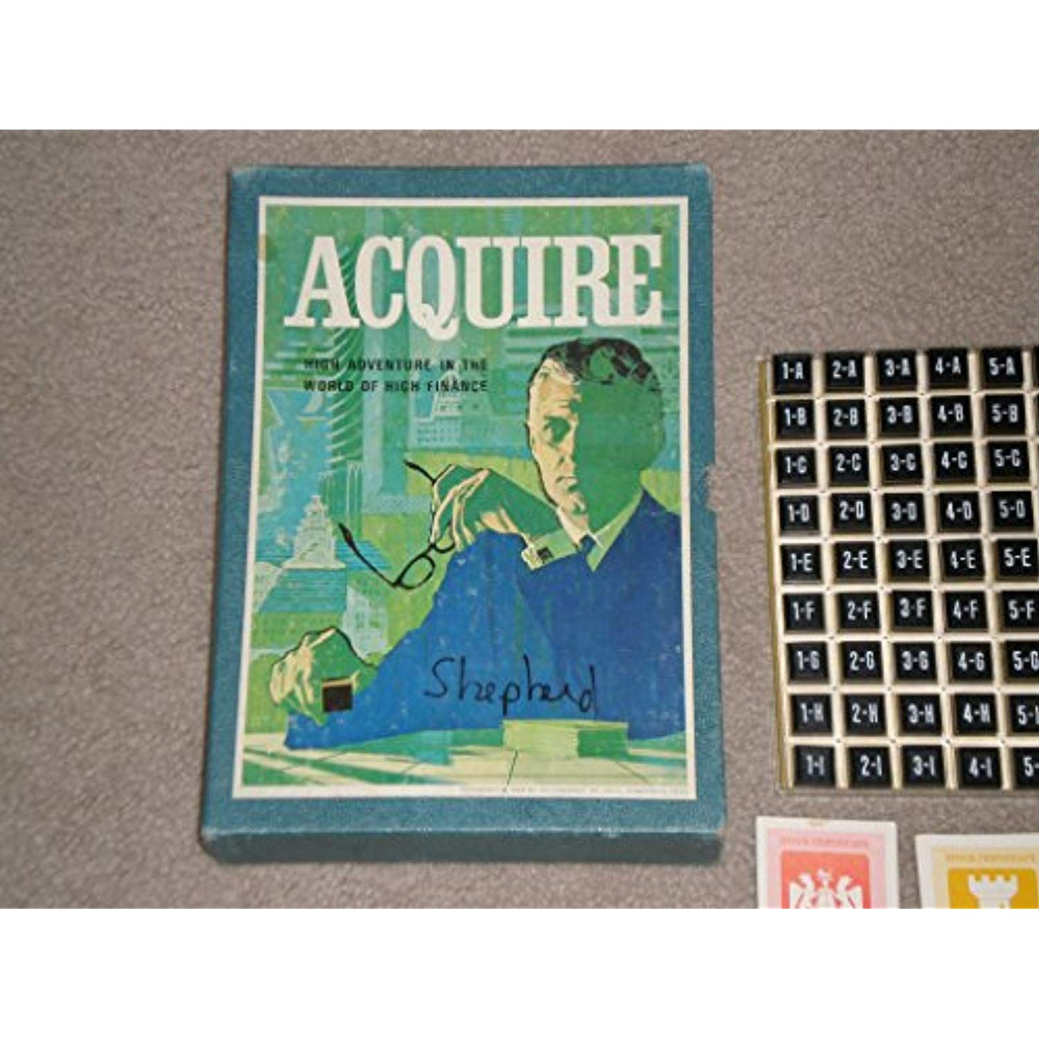 Vintage 1968 ACQUIRE Game By 3m Company *** Click on the