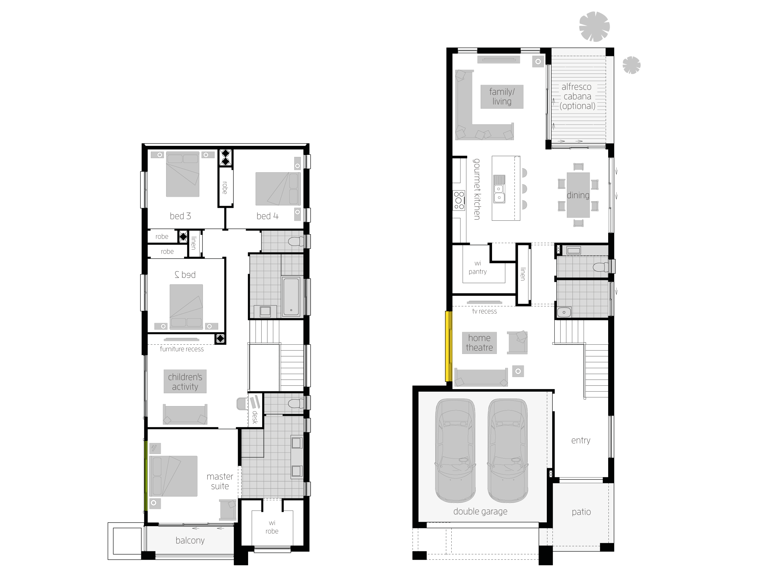 tulloch 31 would make a good duplex great pantry floor plans