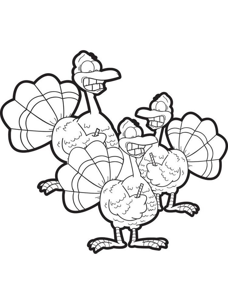 Turkey Coloring Pages For Kindergarten Turkey Is One Type Of