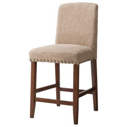 Fantastic 24 Lennox Nailhead Counter Stool Hardwood Threshold Beatyapartments Chair Design Images Beatyapartmentscom