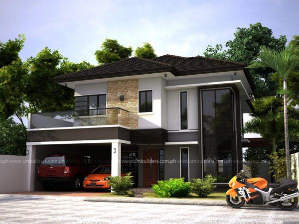 Modern zen house design cm builders also homes rh pinterest