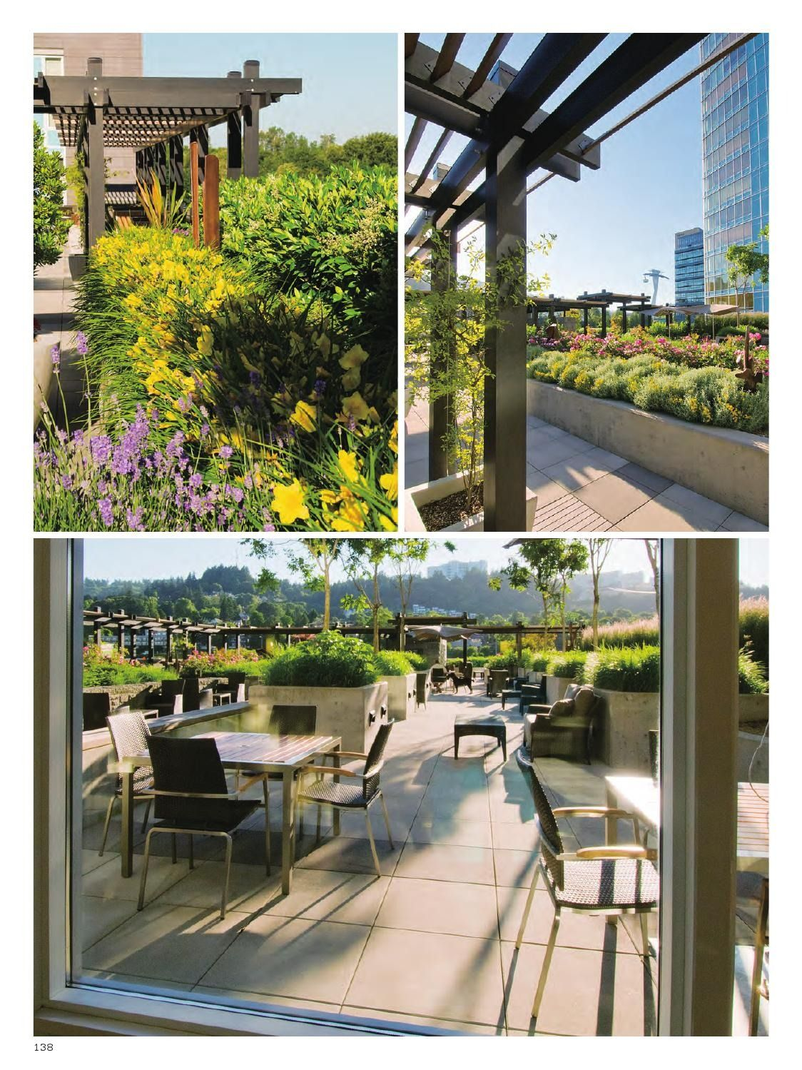 Roof Garden Landscape - World Landscape Case Studies #landsacpe #design # Garden Idea #architecture | Kitchen Garden, Roof Garden, Backyard