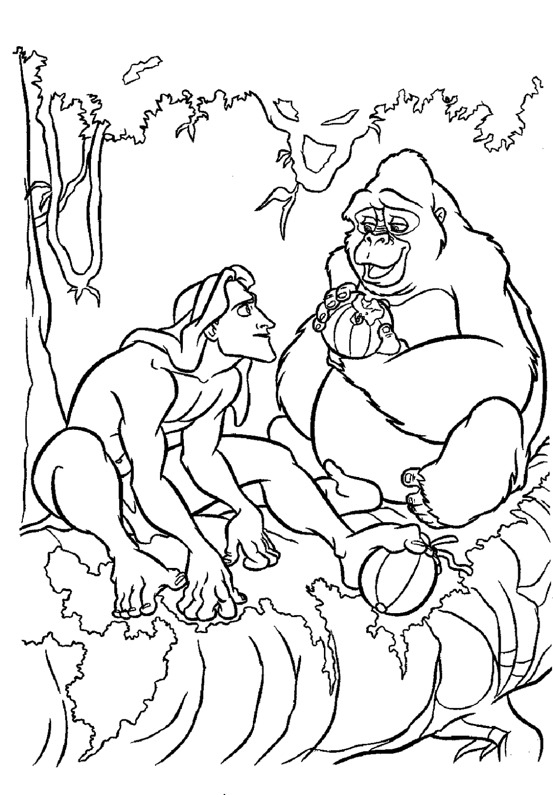 DISNEY COLORING PAGES | Coloring pages | Pinterest | Tarzan, Disney ...