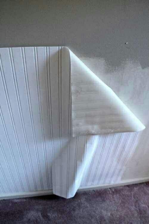 That Wonderful Beadboard Wallpaper My House Pinterest Home